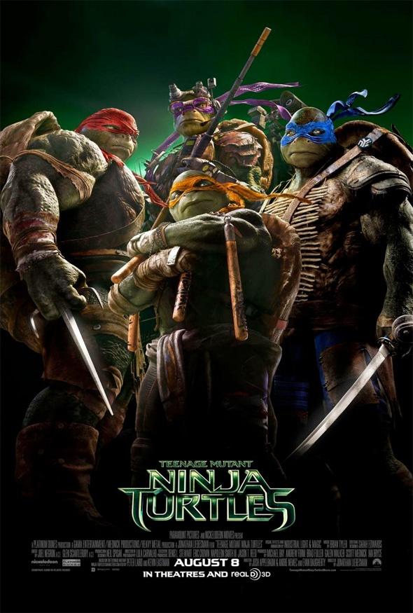 Tartarugas Ninjas Cartaz